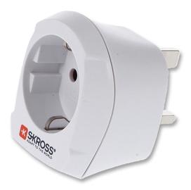 Skross Travel Adapter Europe to UK 1.500230-E