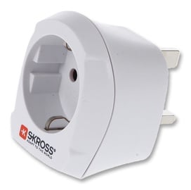 Skross Travel Adapter Europe to UK 1.500230-E