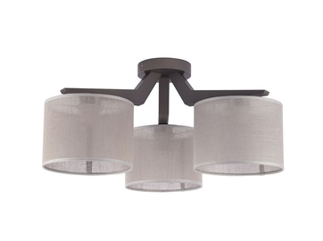 Lubinis šviestuvas TK Lighting Dove Gray 1763, 3X60W, E27