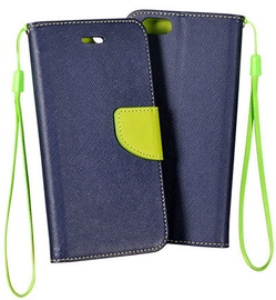 Mocco Fancy Book Case For Sony Xperia E5 Blue/Green