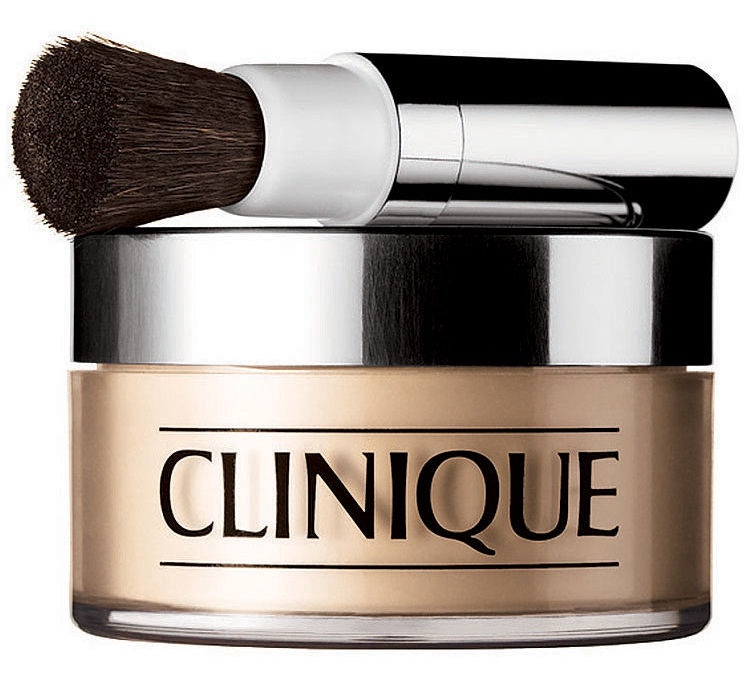Biri pudra Clinique Blended Face Powder & Brush 04, 35 g