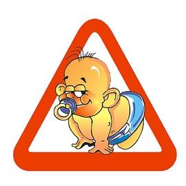 SN Car Sticker Baby 1/01011