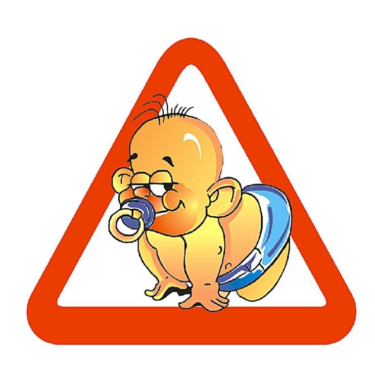Наклейки SN Car Sticker Baby 1/01011
