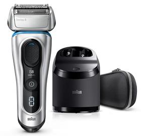 Braun Shaver Series 8 8390cc Silver