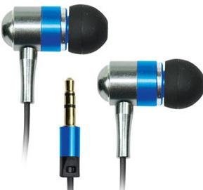 Ausinės Vakoss Metal Stereo Earphones Blue