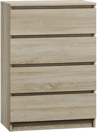 Top E Shop Malwa M4 Chest of 4 Drawers Sonoma