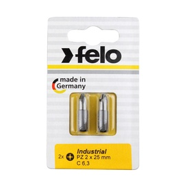 Felo PZ2 25mm Titan Screwdriver Bit 2pcs