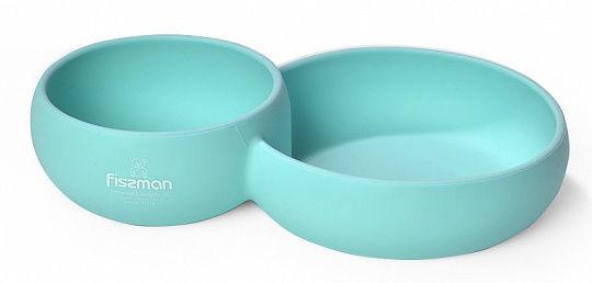 Fissman Double Divided Bowl 24x15x5cm 580ml