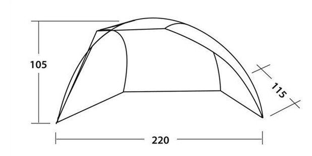 Palapinė Easy Camp Bay Beach Tent