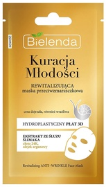 Bielenda Youth Therapy Revitalizing Anti Wrinkle Sheet Face Mask 1pcs