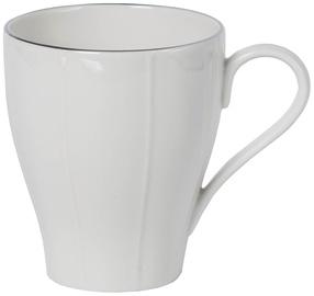 Quality Ceramic Bliss Platinum Breakfast Mug 30cl