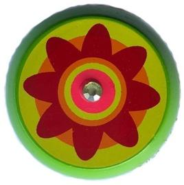 Woody Yo-Yo Green With Flower 90735