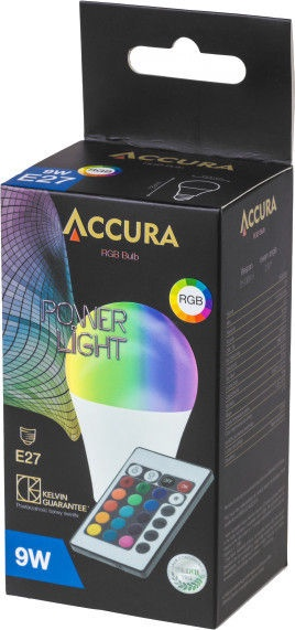 Accura ACC3074 9W Powerlight E27 RGBW