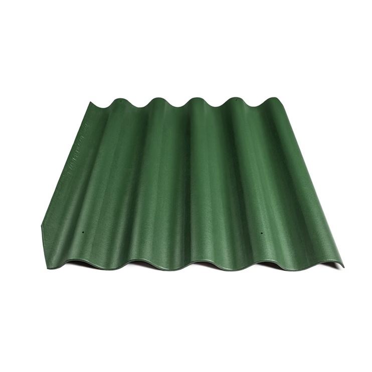 Banguotas lakštas Eternit BANGA, 875 x 920 mm, žalias