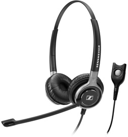 Sennheiser SC 660 On-Ear Headset Black