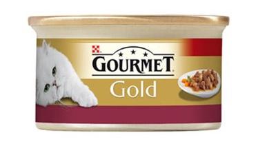 Kaķu barība Gourmet Gold ar vistas gaļu 85g