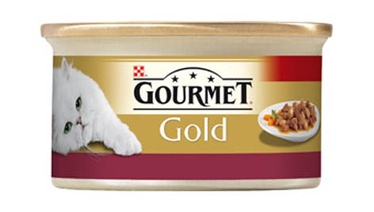 Purina Gourmet Gold with Chicken and Liver 85g