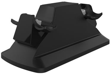 Piranha Dual Controller AC Charge Dock Black 397013