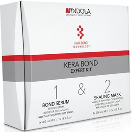 Indola Kera Bond Serum 500ml + 2x500ml Sealer Mask