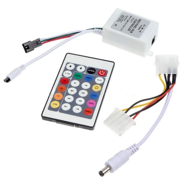 Lamptron FlexLight Multi Programmable RGB LEDs 5m + IR Remote