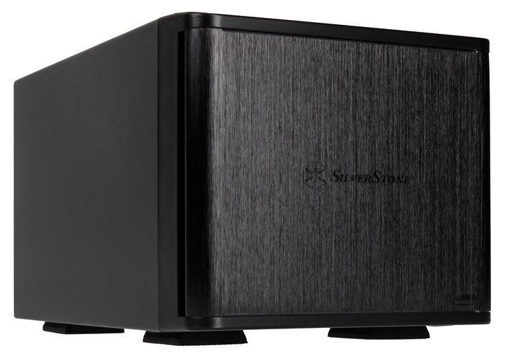 "SilverStone External Enclosure TS231U-C 2 Bay 3.5"" HDD Black"