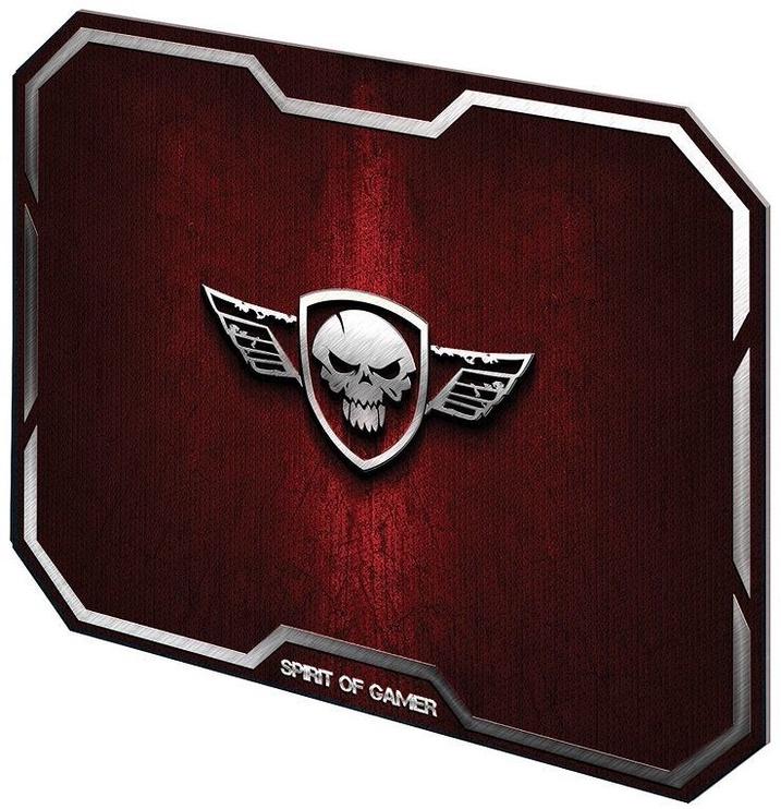 Spirit of Gamer Winger Skull Gaming Mouse Pad Medium Red
