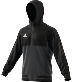 Adidas Tiro 17 Presentation Jacket AY2856 Black Grey XL