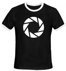 Gaya Entertainment T-Shirt Portal 2 Aperture Symbol Black M