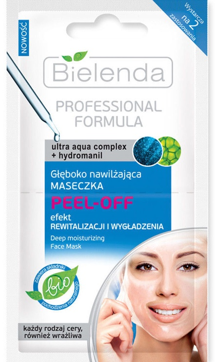 Bielenda Deeply Hydrating Peel-Off Mask 2 x 5g