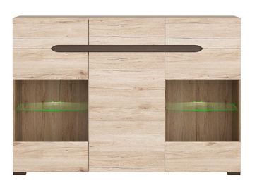 Black Red White Elpasso 41x104cm San Remo Oak