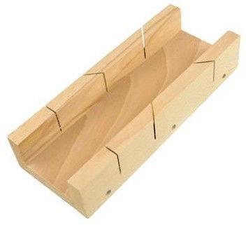Geko Wooden Mitre Box 305mm