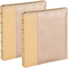 Victoria Collection Album B 10x15/200 Rose Beige 2pcs