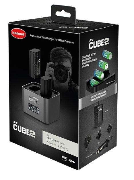 Hähnel ProCube 2 Charger For Nikon Grey