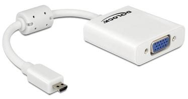 Delock Adapter HDMI-micro to VGA White