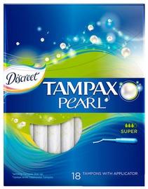 Tampax Descreet Pearl Super Tampons 18pcs