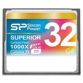 Silcone Power Superior CF1000X Compact Flash UDMA 7 32GB