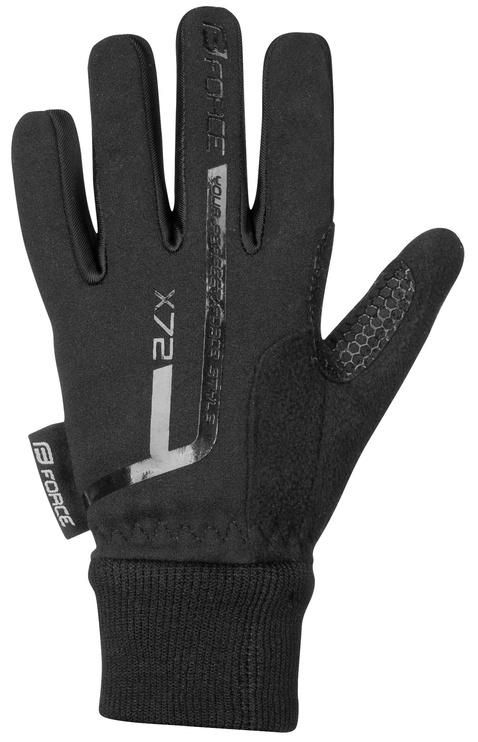 Перчатки Force Kid X72 Full Gloves Black L