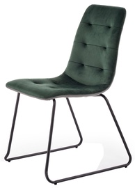 Halmar K321 Chair Dark Green/Grey