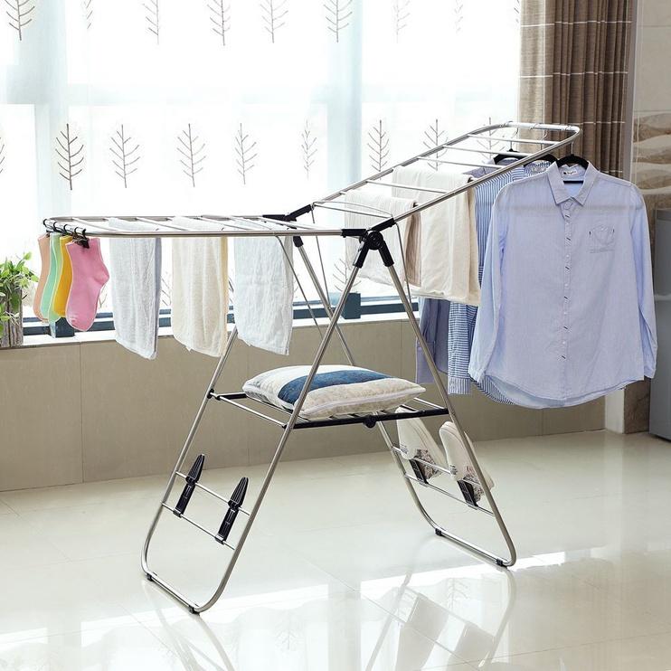 Сушилка для одежды Songmics Dryer For Laundry Silver 147x97cm