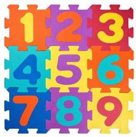 Plastica EVA Foam Puzzle 91627 Numbers 18pcs