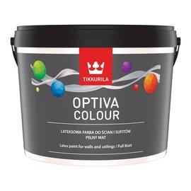 Vandeniniai akriliniai dažai Tikkurila Optiva colour, C bazė, visiškai matiniai, 2,7 l