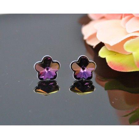 12f54f8bb63 Vincento Earrings With Swarovski Elements Rivoli Flower VE-2266 - Krauta.ee