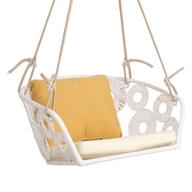 Home4you Rondo Hanging Chair White