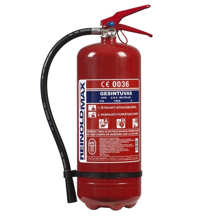 Огнетушитель Reinoldmax Fire Extinguisher 6kg