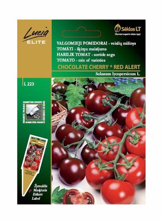 Tomātu sēklas Lucia Chocolate Cherry & Red Alert