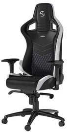 Žaidimų kėdė Noblechairs EPIC SK Gaming Edition Black/White/Blue