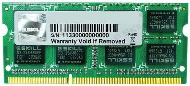 G.SKILL 8GB 1333MHz CL9 DDR3 SO-DIMM F3-10666CL9S-8GBSQ