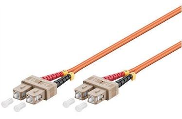 Goobay Optical Fiber Cable SC/SC Multimode OM2 2m Orange