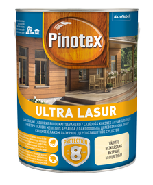 Impregnantas Pinotex Ultra Lasur EU, palisandro spalvos, 3 l