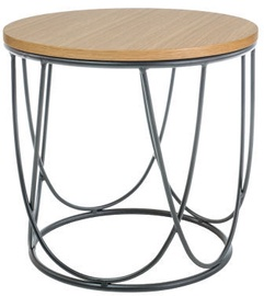 Signal Meble Chair Lawa Sepia II Oak/Black